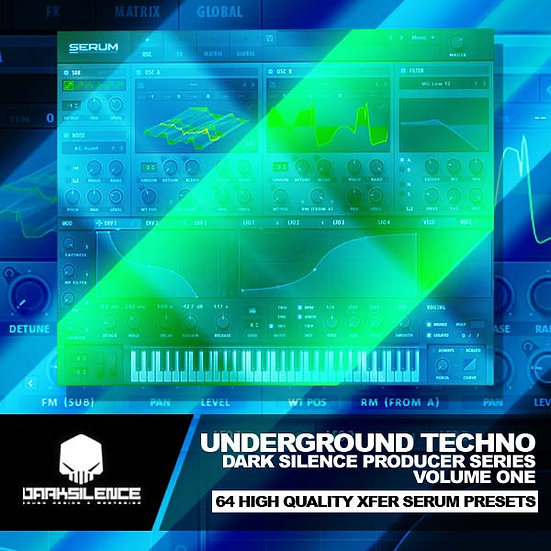 UNDERGROUND TECHNO V1 + SKIN + FREEBIES