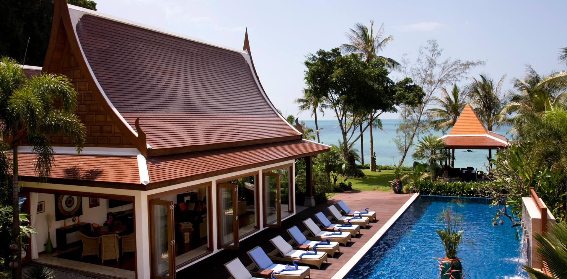 Villa Haineu Beachfront Villa - Villa Hai