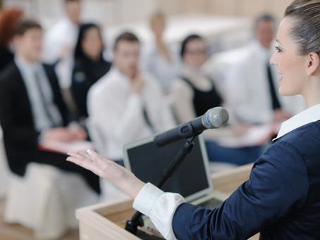Afraid of Public Speaking?