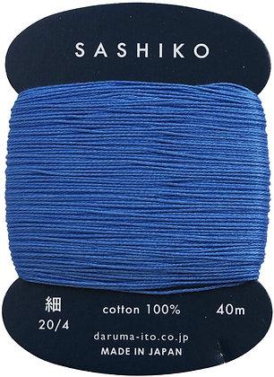 #225 lapis lazuli blue 40m fine Yokota Daruma sashiko thread