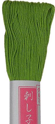 #24 spring green 40m medium Yokota Daruma sashiko thread