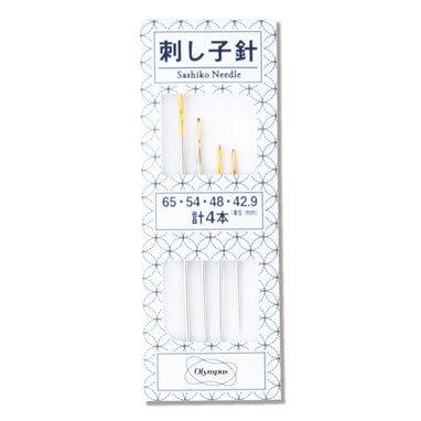Sashiko Needles pack of 4 by Olympus Thread Mfg. Co.
