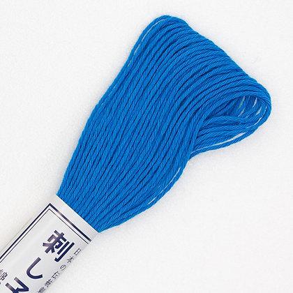 #27 20m sashiko thread bright mid blue