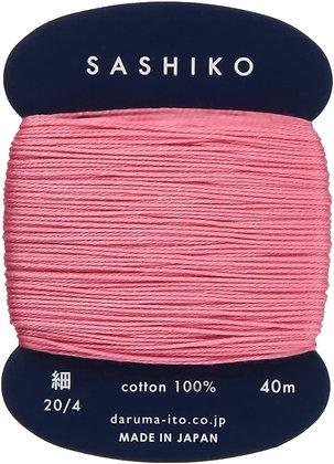 #222 plum blossom pink 40m fine Yokota Daruma sashiko thread