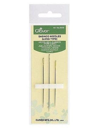 Clover sashiko needles (long type)
