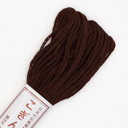 #778 dark brown kogin thread 18m