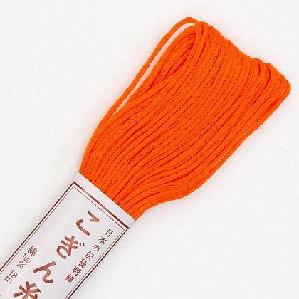 #173 bright orange kogin thread 18m