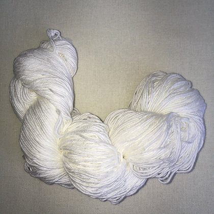 white thick sashiko thread 180m skein