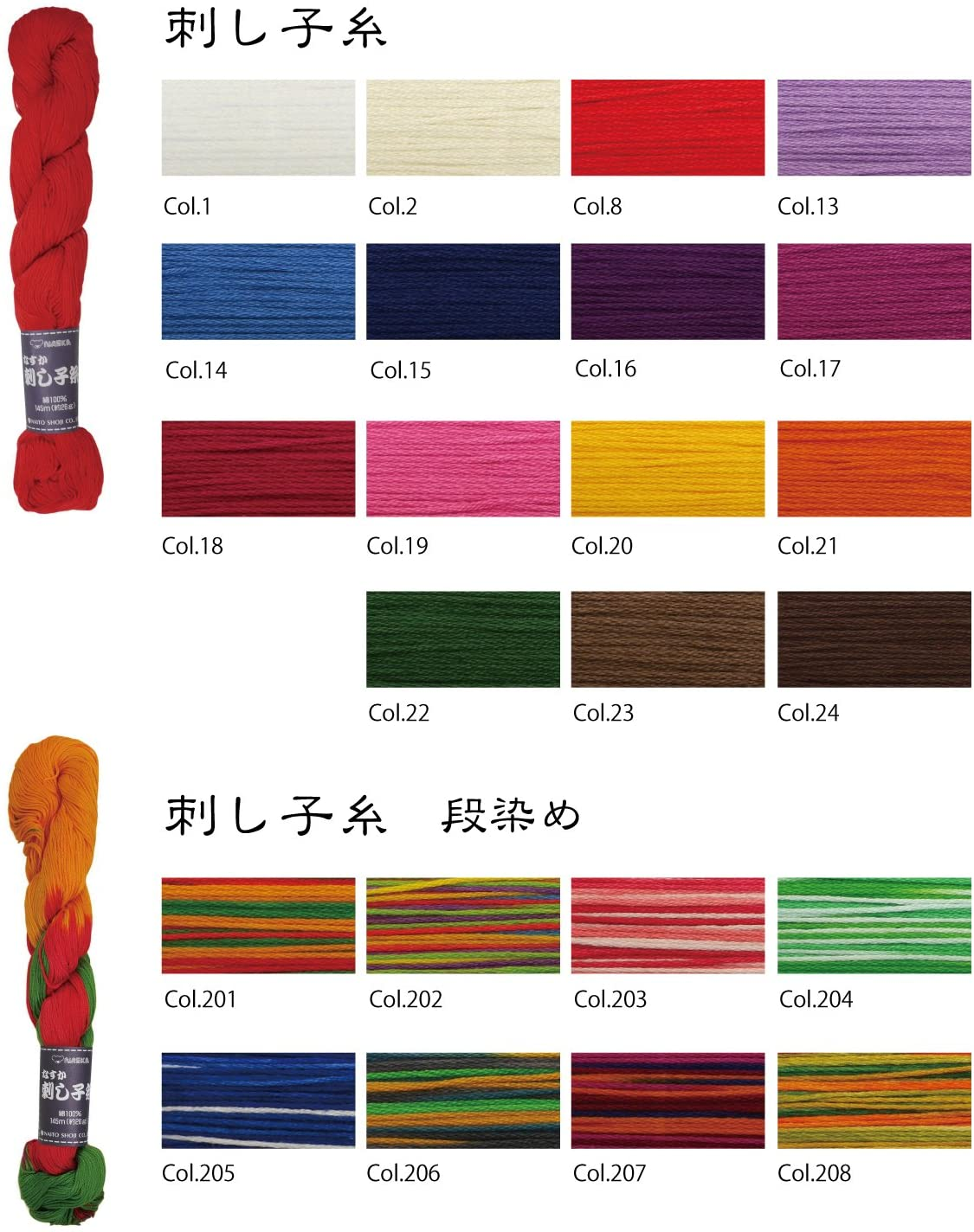 Thumbnail: #22 dark green 145m stranded sashiko/kogin thread