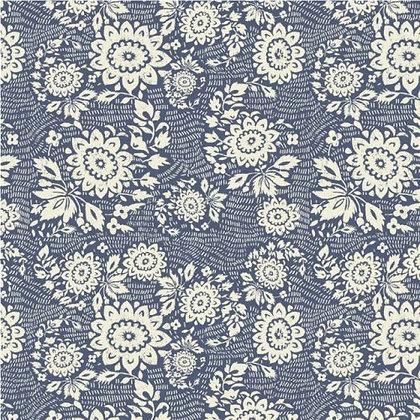Katazome 'Sashiko' patchwork print - Whistler Studios