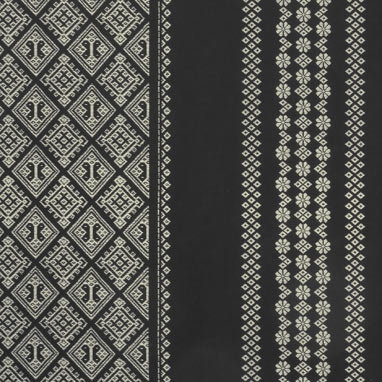 14N-6 A Takumi BLACK cotton faux kogin (per half metre)