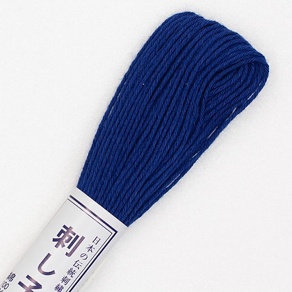 #18 20m sashiko thread deep blue