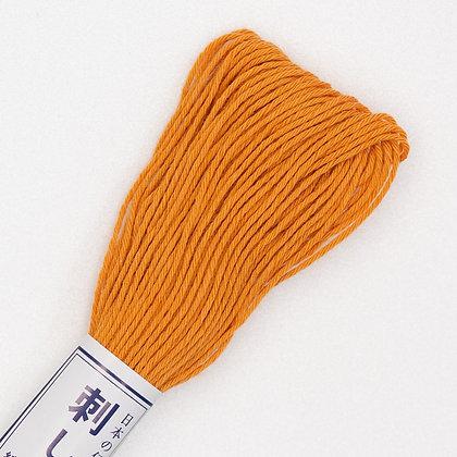 #04  20m sashiko thread persimmon orange