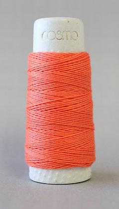 #88-18 Lecien Cosmo Hidamari sashiko thread 30m fine light orange