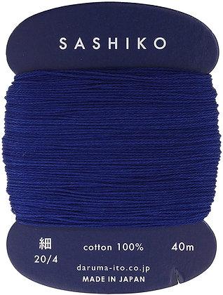 #215 indigo blue 40m fine Yokota Daruma sashiko thread
