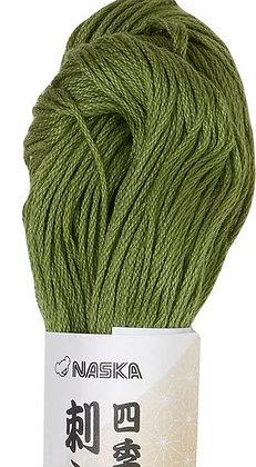 #113 celandon green 80m stranded sashiko/kogin thread