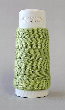 #88-15 Lecien Cosmo Hidamari sashiko thread 30m fine spring green