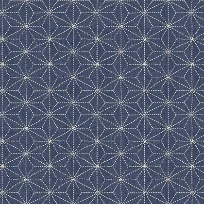 Asanoha 'Sashiko' patchwork print - Whistler Studios