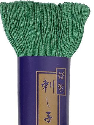 #5 green 170m fine Yokota Daruma sashiko thread