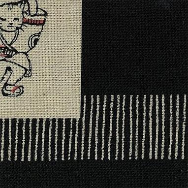 Takumi BLACK animal party110 x 74cm panel