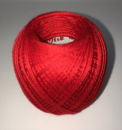 #215 80m FINE bright red sashiko thread