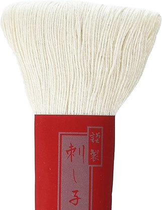 #2 cream 100m medium Yokota Daruma sashiko thread