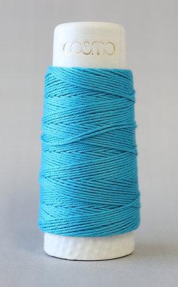 #88-02 Lecien Cosmo Hidamari sashiko thread 30m fine turquoise