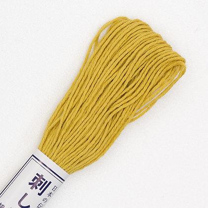 #05  20m sashiko thread yellow ochre