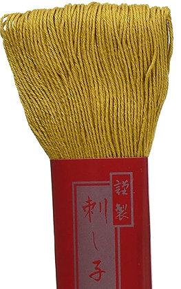 #3 mustard yellow 100m medium Yokota Daruma sashiko thread