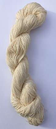 cream fine sashiko thread 370m skein