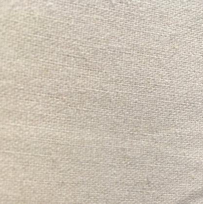 cotton/linen blend ivory white/cream