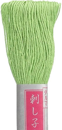 #12 light green 40m medium Yokota Daruma sashiko thread