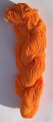 #14 fine sashiko thread 370m skein orange yellow