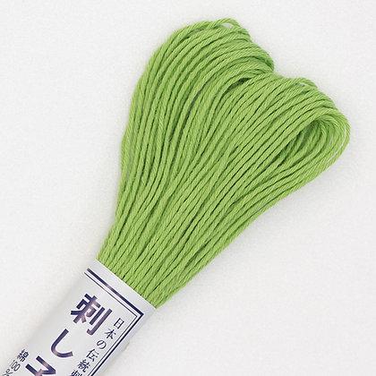 #06  20m sashiko thread light green