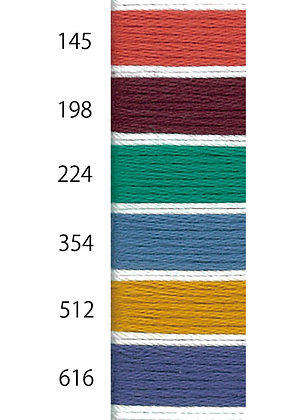 EXTRA COLOURS kogin thread 18m solid colours
