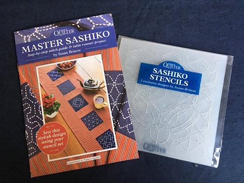 'Master Sashiko' booklet and stencil set