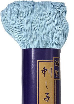 #26 light blue 170m fine Yokota Daruma sashiko thread