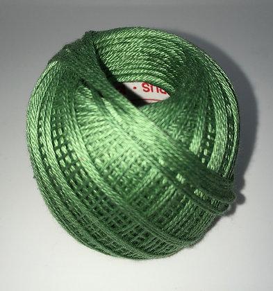 #207 80m FINE mid green sashiko thread