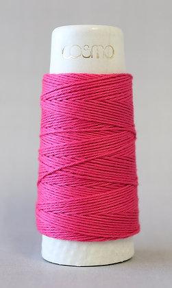 #88-08 Lecien Cosmo Hidamari sashiko thread 30m fine deep pink