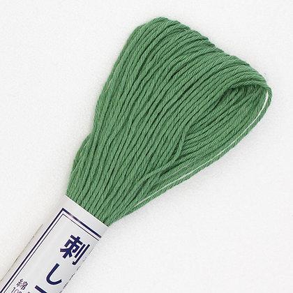 #07  20m sashiko thread mid green