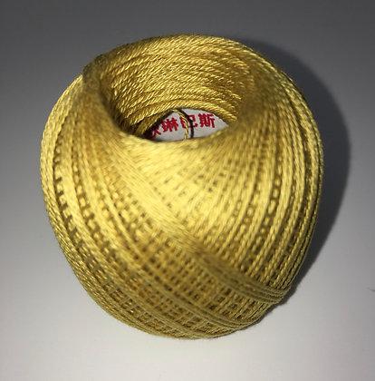 #205 80m FINE yellow ochre sashiko thread