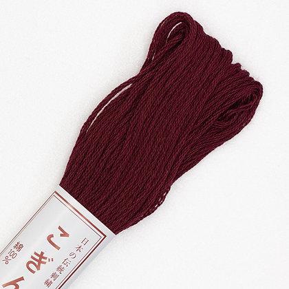 #198 dark burgundy red kogin thread 18m