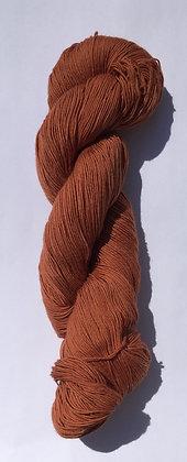 #10 fine sashiko thread 370m skein warm brown