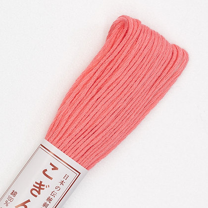 #144 salmon pink kogin thread 18m