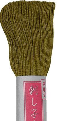 #25 olive green 40m medium Yokota Daruma sashiko thread