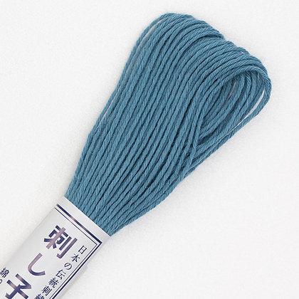 #09  20m sashiko thread airforce blue