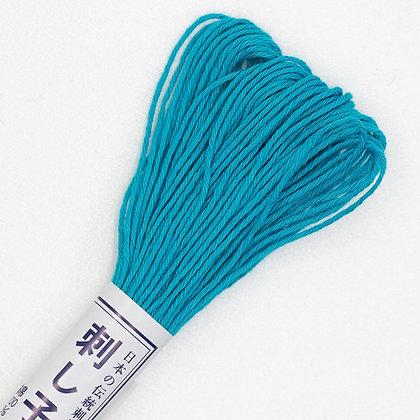 #17 20m sashiko thread turquoise