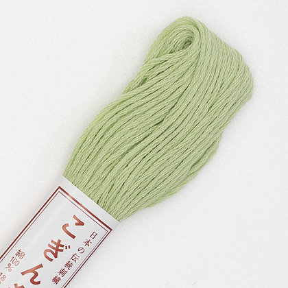 #251 pale green kogin thread 18m
