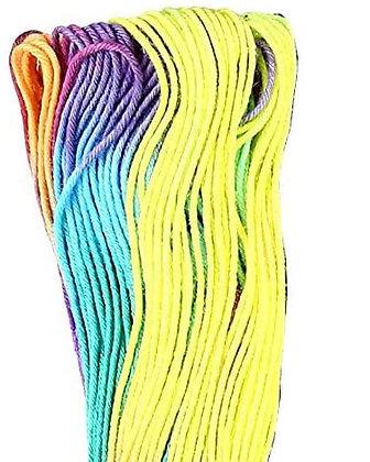 #101 rainbow 40m medium Yokota Daruma sashiko thread