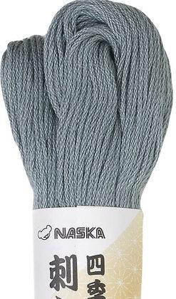 #117 silver mouse colour 80m stranded sashiko/kogin thread